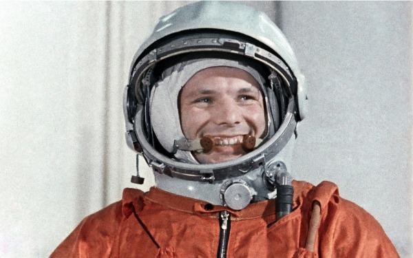 Первый космонавт Юрий Гагарин